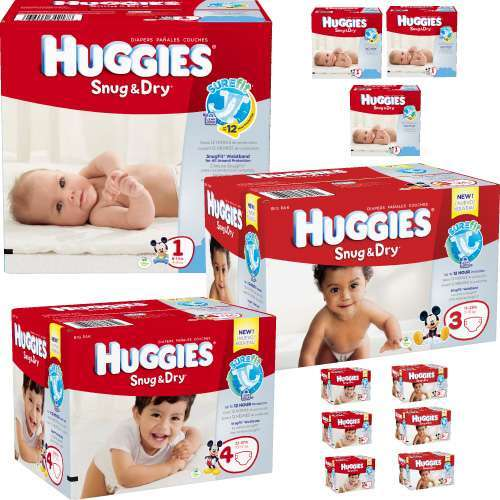 12 monthly diapers service