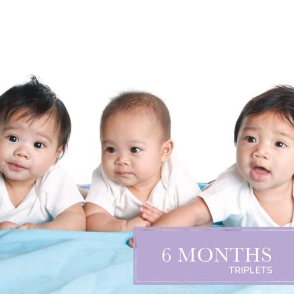 Six months diaper delivery for triplets