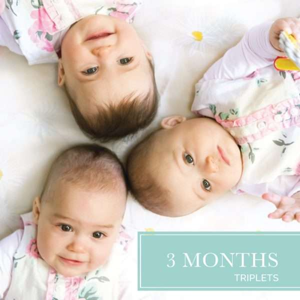 Three month diaper delivery for triplets