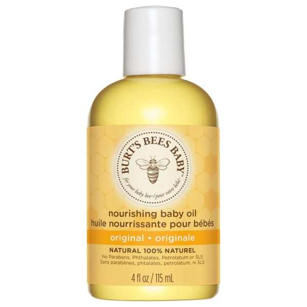 Burts Bees Baby Oil