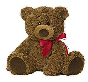 Coco Bear with red bow