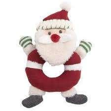 Santa baby rattle