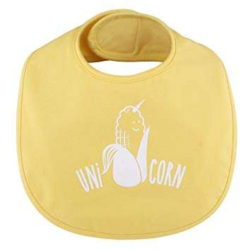 Unicorn yellow bib