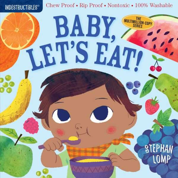 Baby, Let's Eat colorful book