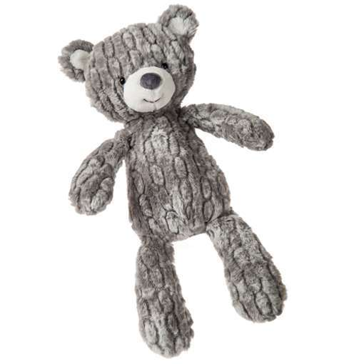 Gray Quilted Elegant Baby Soft Bear