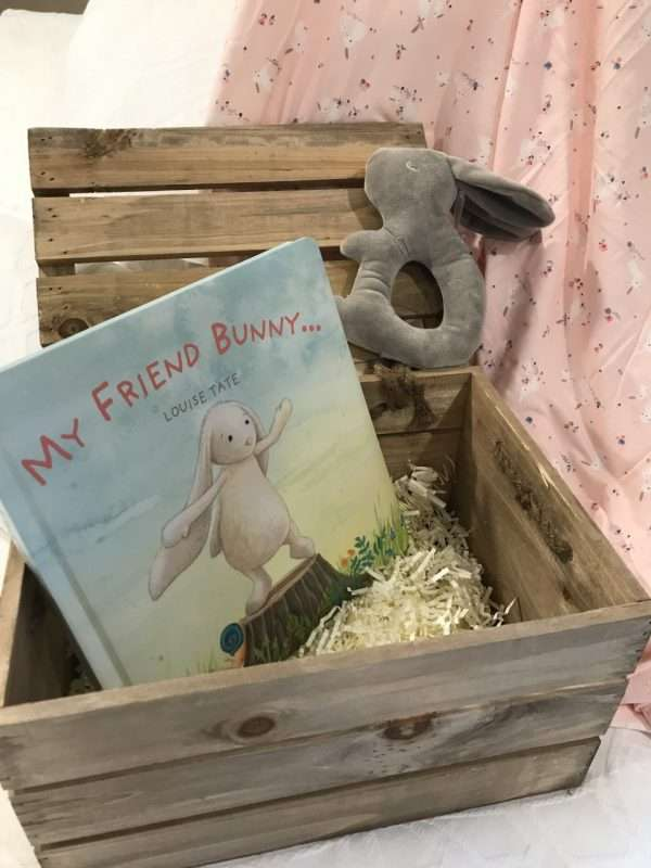 My Friend bunny crate