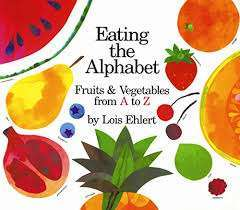 Colorful baby book Eating the Alphabet