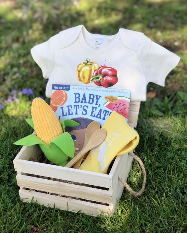Small Corn Crate luxury baby gift