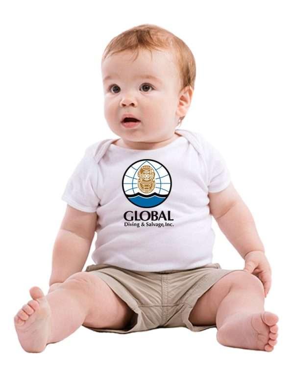 Baby tshirt with logo