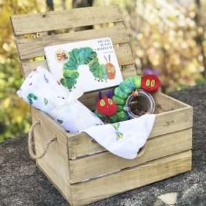Hungry Caterpillar Baby Gift Crate
