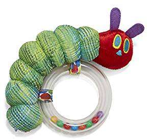 Very Hungry Caterpillar Baby Rattle noise maker
