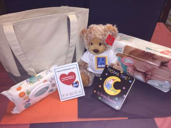 company baby gift tote bag teddy bear book and more