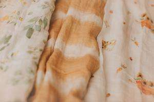 baby swaddle blankets in different patterns