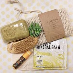 bath products for new mom