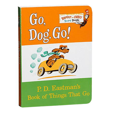Go Dog Go! by PD Eastman board book for baby
