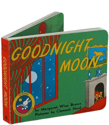 photo of the cover of goodnight moon baby board book